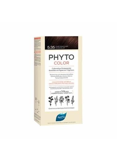 PHYTO Phyto Phytocolor Color 5.35 Açık Kestane Dore Akaju SaÇ Boyası Renksiz